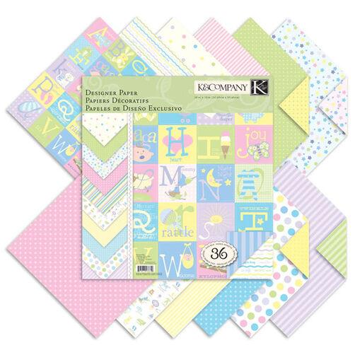 Snuggle Bug 12x12 Designer Paper Pad_30-136649