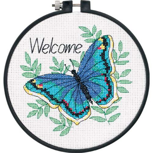 Welcome Butterfly, Counted Cross Stitch_73147