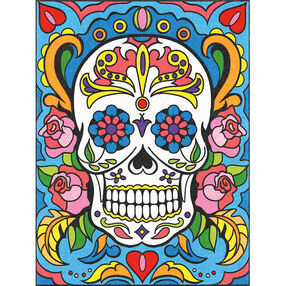 Sugar Skull, Pencil by Number_73-91494