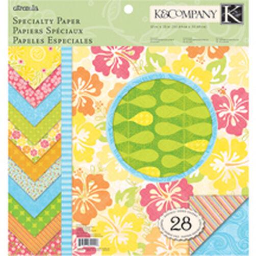 Citronella 12x12 Specialty Paper Pad_30-625556