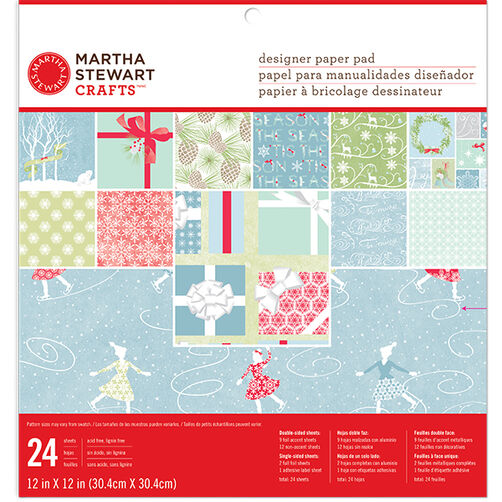 Frosty Elegance 12 x 12 Paper Pad_48-30248
