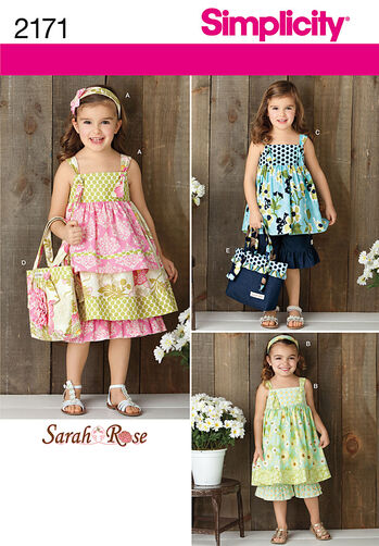 Simplicity Pattern 2171 Child's Sportswear