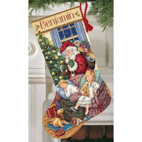Sweet Dreams Stocking, Counted Cross Stitch_08740