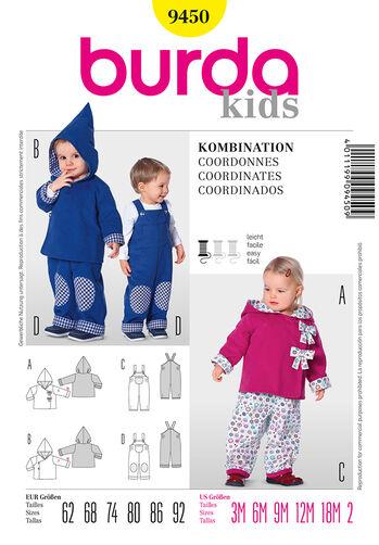 Burda Style Pattern 9450 Coordinates