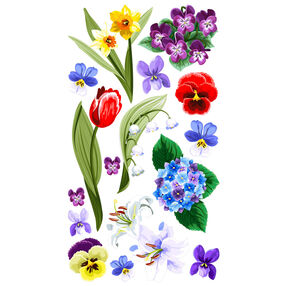 Floral Medley Stickers_52-00998