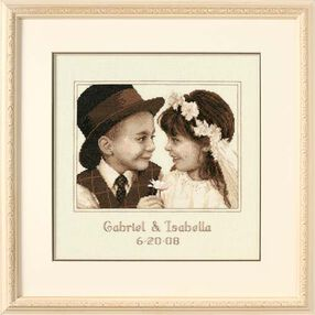 First Love Wedding Record, Counted Cross Stitch_35192