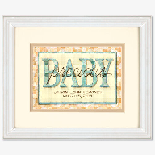 Sweet Baby Birth Record, Counted Cross Stitch_70-65110