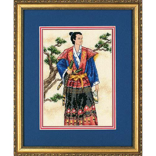 The Samurai, Counted Cross Stitch_06813