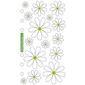Classic Stickers Daisies_SPPR85