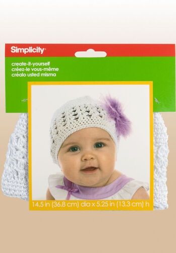 Create-It-Yourself Baby's Crochet Cap