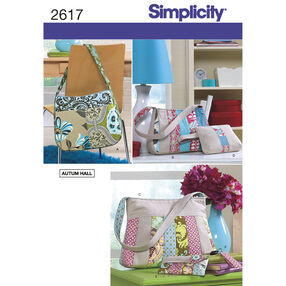 Simplicity Pattern 2617 Bags & Accessories