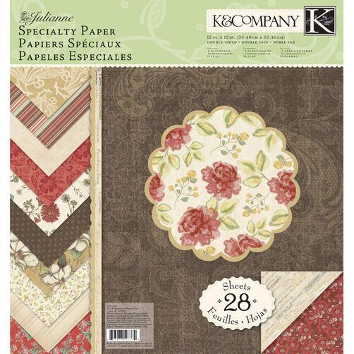 Julianne 12x12 Specialty Paper Pad_30-597372