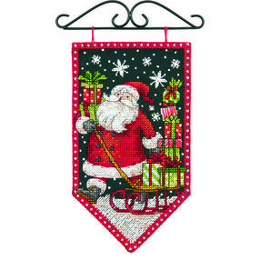 Winter Mini Banner in Counted Cross Stitch_72-74136