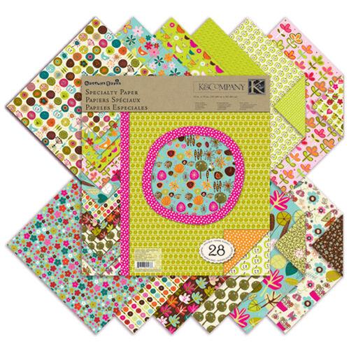 Carolyn Gavin Greenhouse 12 x 12 Specialty Paper Pad_30-625686