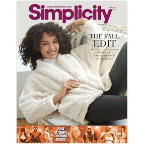 Simplicity Pattern Catalog Autumn 2016