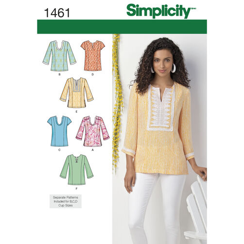 Simplicity Pattern 1461 Misses' & Plus Size Tunic