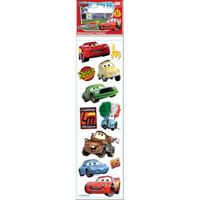 Cars Dimensional Stickers_51-40029