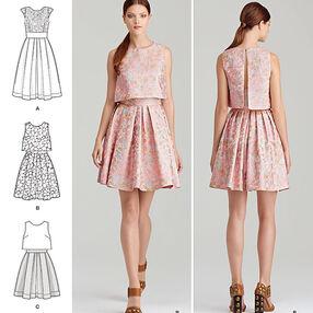 Pattern 8086 Misses' Dress by Cynthia Rowley