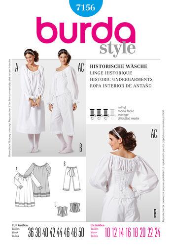 Burda Style Historic Undergarments