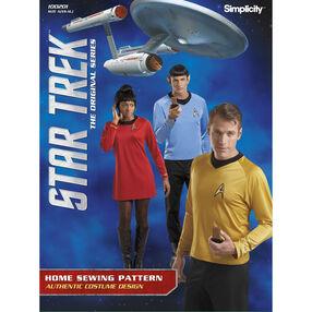 Simplicity Pattern 100201 Unisex Star Trek Costume