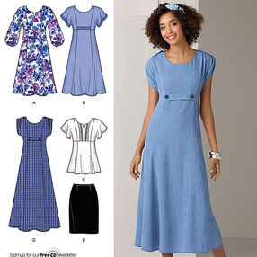 Misses' & Plus Size Dresses