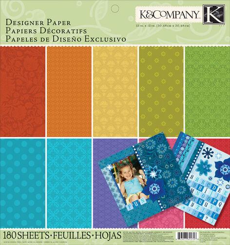 Essentials Dark Designer Paper Pad_30-666245