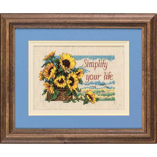 Simplify Your Life, Counted Cross Stitch_16689
