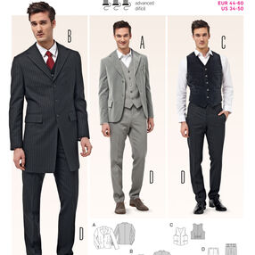 Burda Style Mens Wear, Sports Wear