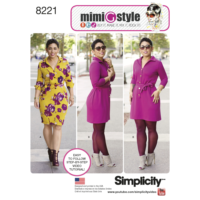 Mimi g maxi dress pattern plus