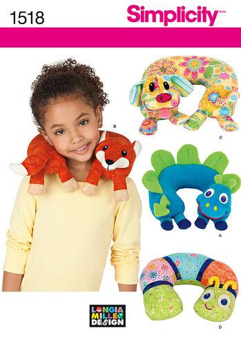 Child's Animal Neck Pillows