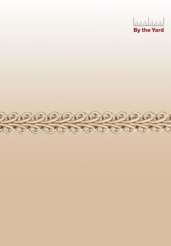 "3/8"" Woven Scroll Braid"