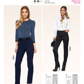 Burda Style Pattern 6879 Pants, Jumpsuit