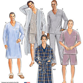 Men's Classic Pajamas & Robe