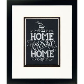 Home Crazy Home, Counted Cross Stitch_70-65149
