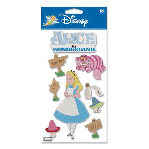 Alice In Wonderland Dimensional Stickers_DJBCM08