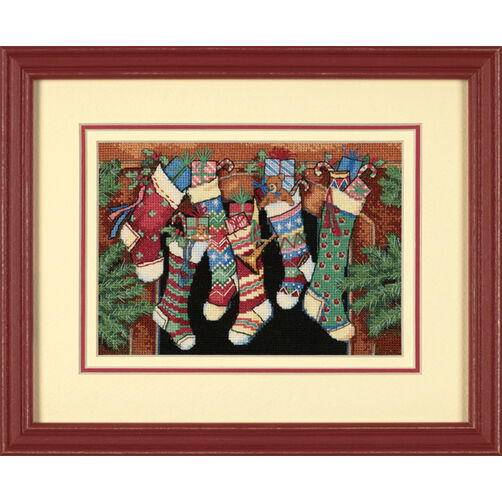 The Stockings Were Hung…, Counted Cross Stitch_08800