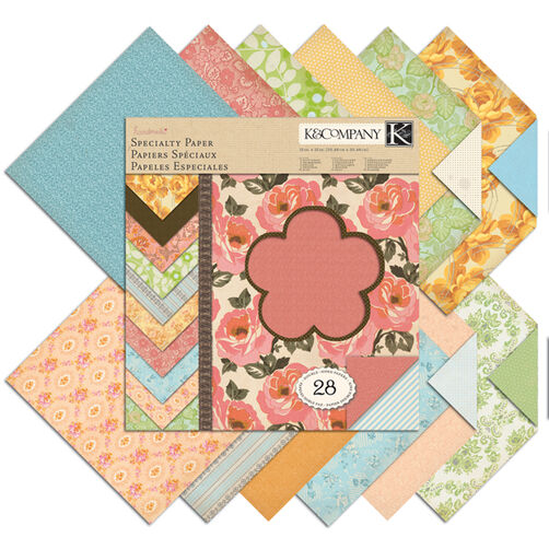 Handmade 12x12 Garnish Specialty Paper Pad_30-320253