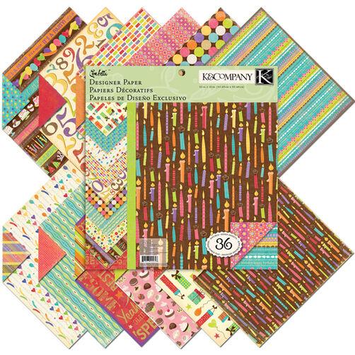 Confetti 12x12 Designer Paper Pad_30-401648
