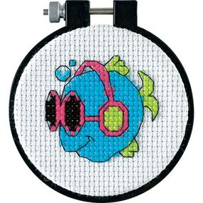 Cool Fins, Counted Cross Stitch_72781