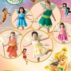 Disney Fairies Costumes for Toddlers