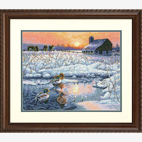 Winter Morning in Counted Cross Stitch_70-35304