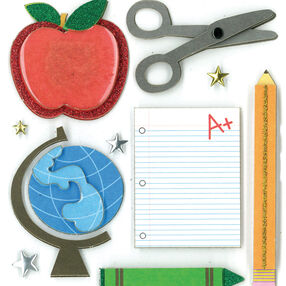 Classroom Fun Dimensional Sticker  _30-577619