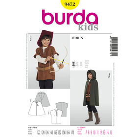 Burda Style Pattern 9472 Robin