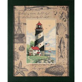 Light at Sea, Counted Cross Stitch_06924