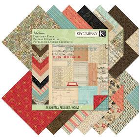 Kelly Panacci Eclectic 12 x 12 Designer Paper Pad_30-676718
