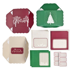 Christmas Treat Boxes with Windows_48-30331