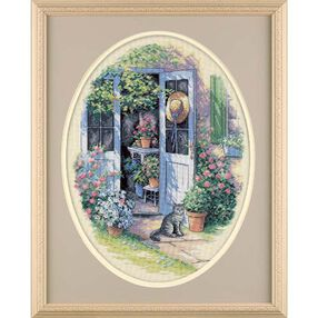 Garden Door, Counted Cross Stitch_35124