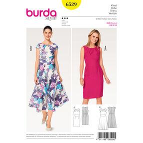 Burda Style Pattern B6529 Misses' Short Sleeve Dress