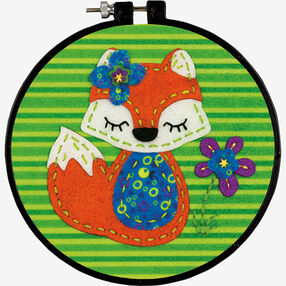 Little Fox, Felt Applique_72-74060