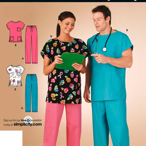 It's So Easy Miss & Men Scrubs